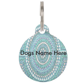 Aboriginal Art Marree Pet Tag