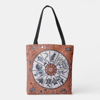 Aboriginal Astrology Tote Bag