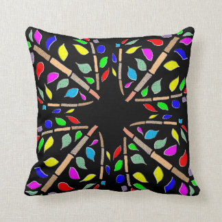 Aboriginal design cushion