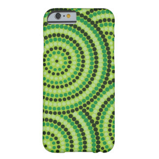 Aboriginal Dot Painting iPhone Case