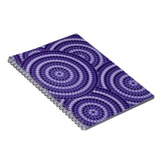 Aboriginal dot painting notebook