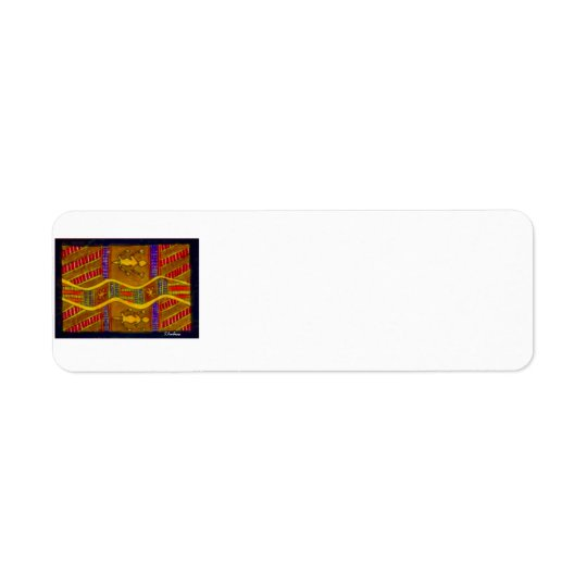 Aboriginal Dreamtime Goannas by S. Ambrose Labels