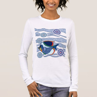 Aboriginal Fish-02 Long Sleeve T-Shirt