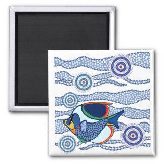 Aboriginal Fish Magnet