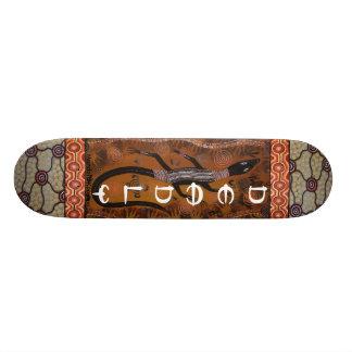 Aboriginal Goanna Deadly Skateboard