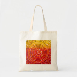 Aboriginal inspired tote bag