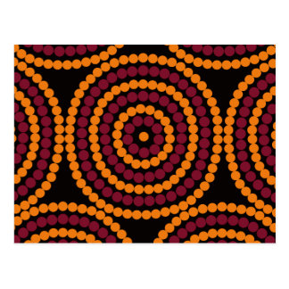 Aboriginal Life cycle Postcard