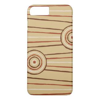 Aboriginal line and circle painting iPhone 8 plus/7 plus case