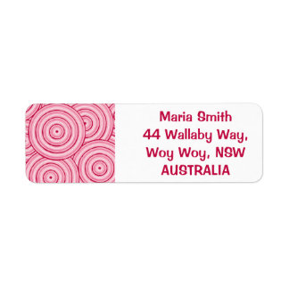 Aboriginal line painting