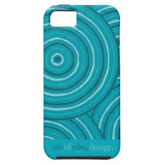 Aboriginal line painting iPhone 5 case