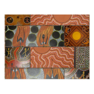 Aboriginal Main Collage .jpg Postcard