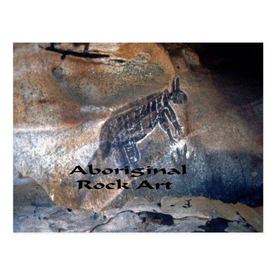 Aboriginal Rock art Postcard
