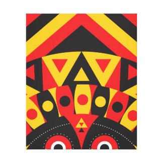 aboriginal tribal canvas print