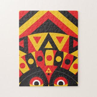 aboriginal tribal jigsaw puzzle