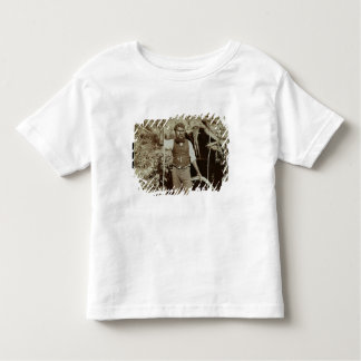 Aborigine with a Boomerang, c.1860s (sepia photo) Toddler T-Shirt