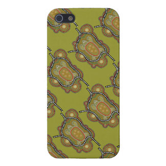 aborigines style wraps with turtle in iPhone 5 covers