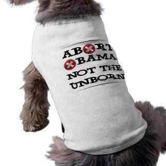 Abort Obama Doggie Tee