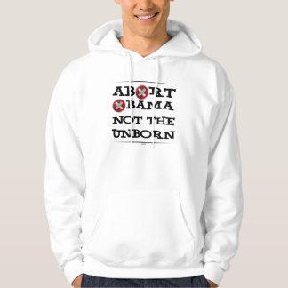 Abort Obama Hoodie