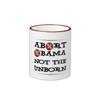Abort Obama Ringer Mug