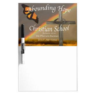 Abounding Hope Christian School Romans 15 13 Dry-Erase Boards