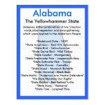 About Alabama Postcard