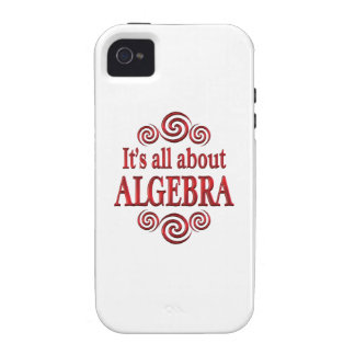 About Algebra Case-Mate iPhone 4 Cover