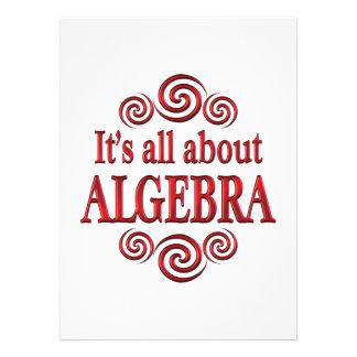 About Algebra Custom Invitations