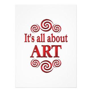 About Art Announcements
