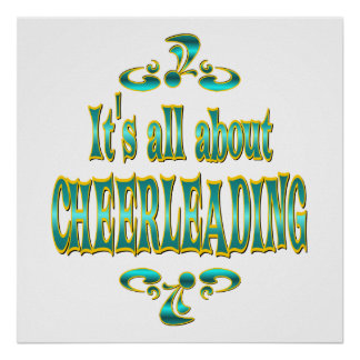 ABOUT CHEERLEADING POSTER