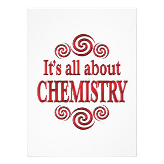 About Chemistry Personalized Announcement