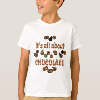 About Chocolate T-Shirt