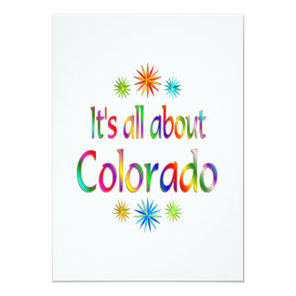 About Colorado Personalized Announcement