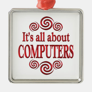 About Computers Christmas Tree Ornaments