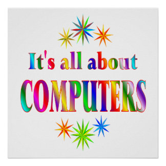 About Computers Poster