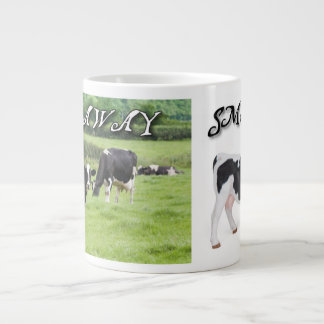 About Cows Large Coffee Mug
