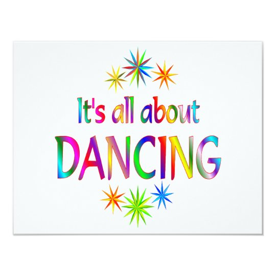 About Dancing Card