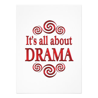 About Drama Announcements