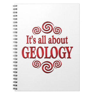 About Geology Spiral Note Books