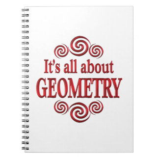 About Geometry Spiral Notebooks