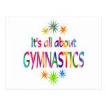 About Gymnastics Post Card