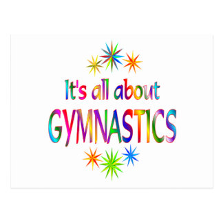 About Gymnastics Postcard