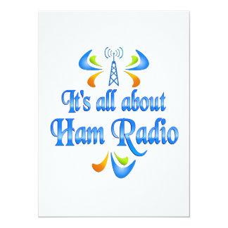 About Ham Radio Announcement