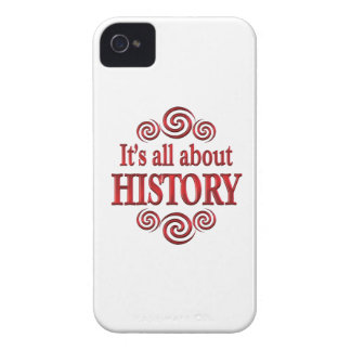 About History iPhone4 Case