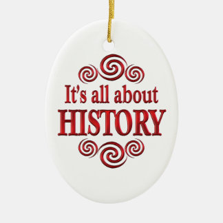 About History Ornament