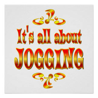 ABOUT JOGGING POSTERS