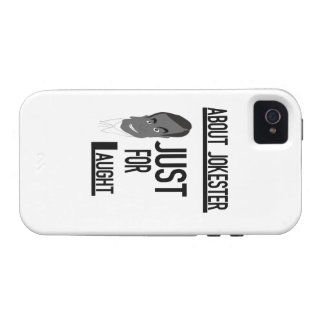 About Jokester Just For Laugh Case For The iPhone 4