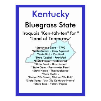 About Kentucky Postcard