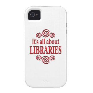 About Libraries Case-Mate iPhone 4 Cases