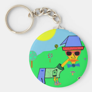 About Life Slogans and Sayings For Men Basic Round Button Key Ring