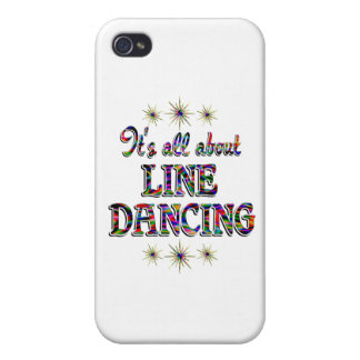 About Line Dancing iPhone 4 Cover